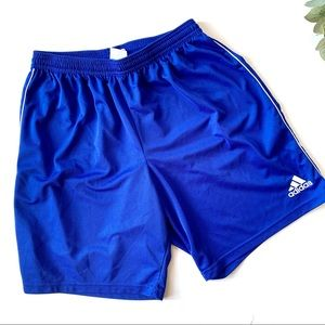 Adidas Royal Blue Shorts Large